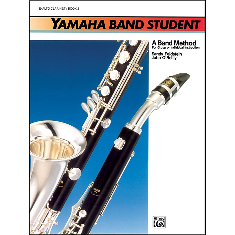 AlfredYamaha Band Student Book 2 B-Flat Tenor Saxophone