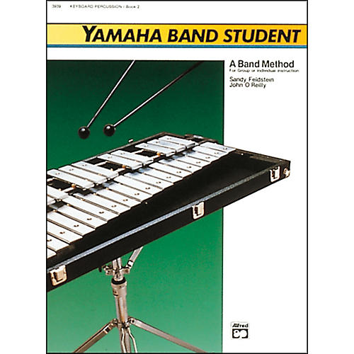 Alfred Yamaha Band Student Book 2 Keyboard Percussion