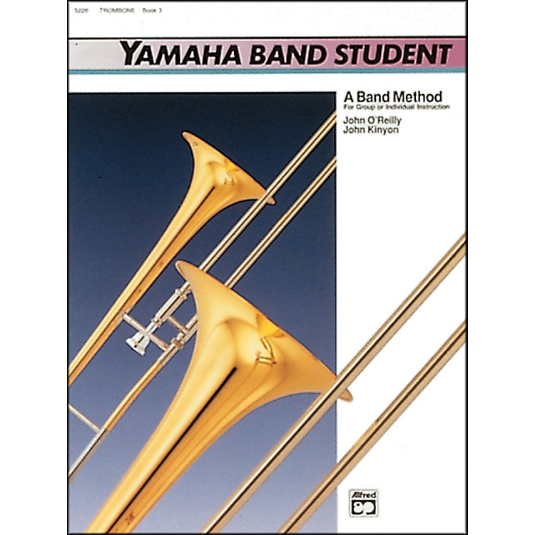 AlfredYamaha Band Student Book 3 Trombone