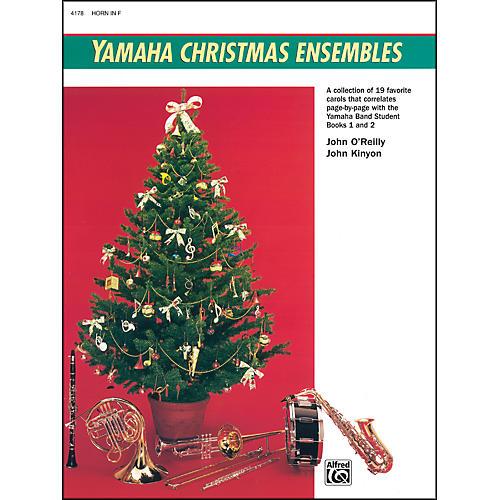 Alfred Yamaha Christmas Ensembles Horn in F-thumbnail