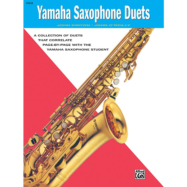 AlfredYamaha E-Flat Alto Saxophone Duets Book
