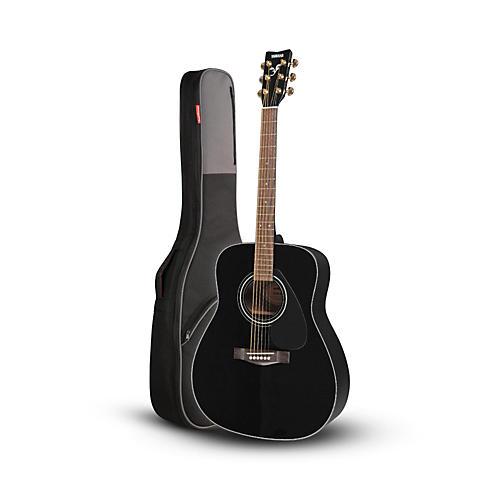 yamaha yamaha f335 acoustic guitar black with road runner rr1ag gig bag musician 39 s friend