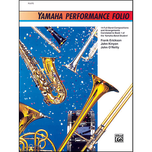 Alfred Yamaha Performance Folio B-Flat Bass Clarinet