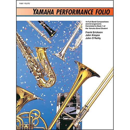 Alfred Yamaha Performance Folio Flute-thumbnail