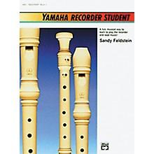 Alfred Yamaha Recorder Student Book