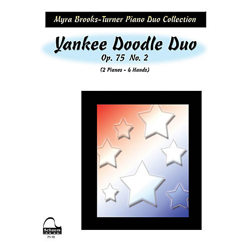SCHAUM Yankee Doodle Duo (2 Pianos) Educational Piano Series Softcover-thumbnail