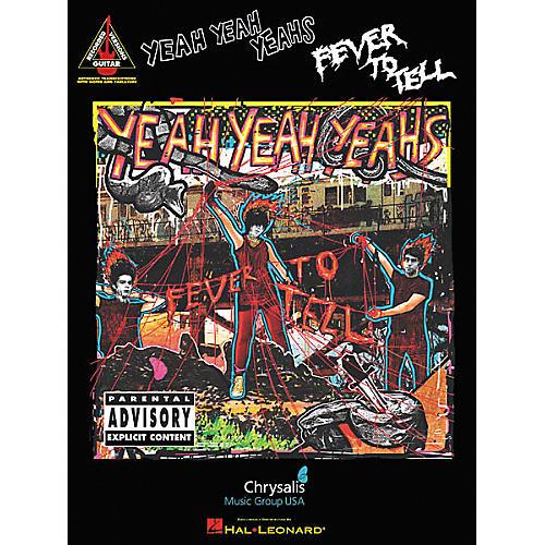 Hal Leonard Yeah Yeah Yeahs Fever To Tell Guitar Tab Book