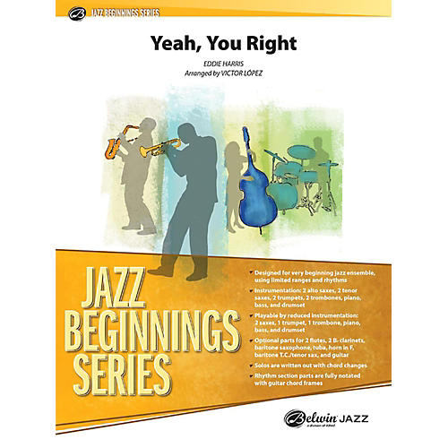Alfred Yeah, You Right Jazz Band Grade 1 Set
