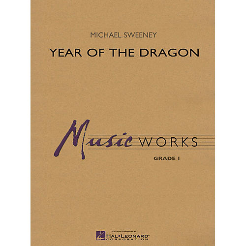 Hal Leonard Year of the Dragon Concert Band Level 1.5 Composed by Michael Sweeney-thumbnail