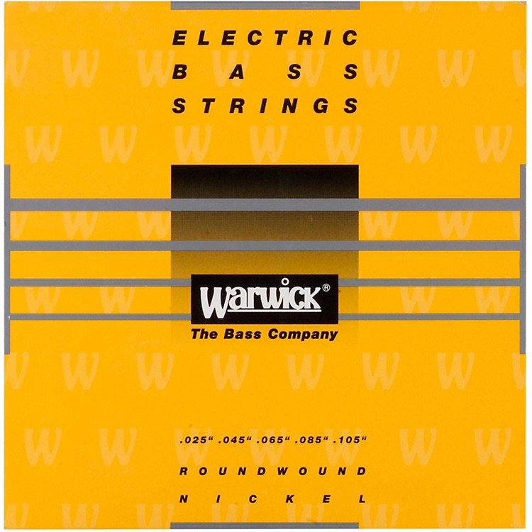 warwick yellow label 5 string medium high c nickel bass strings musician 39 s friend. Black Bedroom Furniture Sets. Home Design Ideas