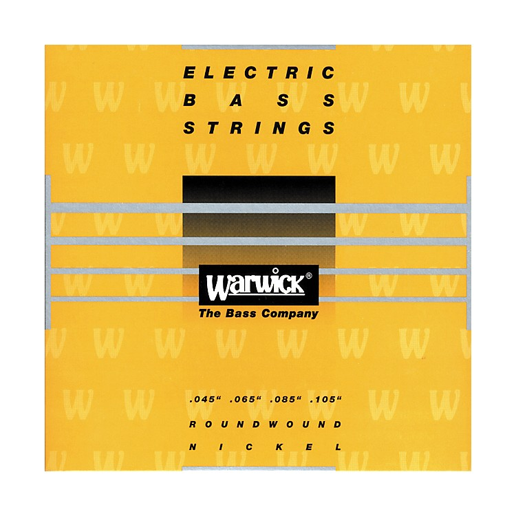 Warwick Yellow Label Nickel Medium 4-String Bass Strings