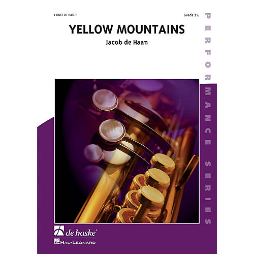 De Haske Music Yellow Mountains Concert Band Composed by Jan de Haan-thumbnail