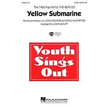Hal Leonard Yellow Submarine 2-Part by The Beatles arranged by John Leavitt