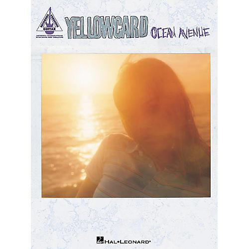 Hal Leonard Yellowcard - Ocean Avenue Guitar Tab Book-thumbnail