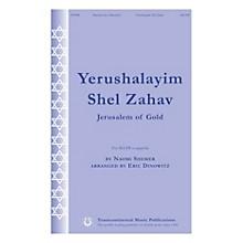 Transcontinental Music Yerushalayim Shel Zahav (Jerusalem of Gold) SSATB A Cappella arranged by Eric Dinowitz