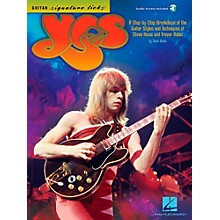 Hal Leonard Yes - Guitar Signature Licks Book/Audio Online