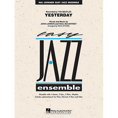 Hal Leonard Yesterday Jazz Band Level 2 Arranged by Rick Stitzel