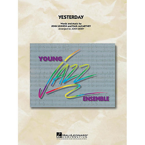 Hal Leonard Yesterday Jazz Band Level 3 by The Beatles Arranged by John Berry-thumbnail