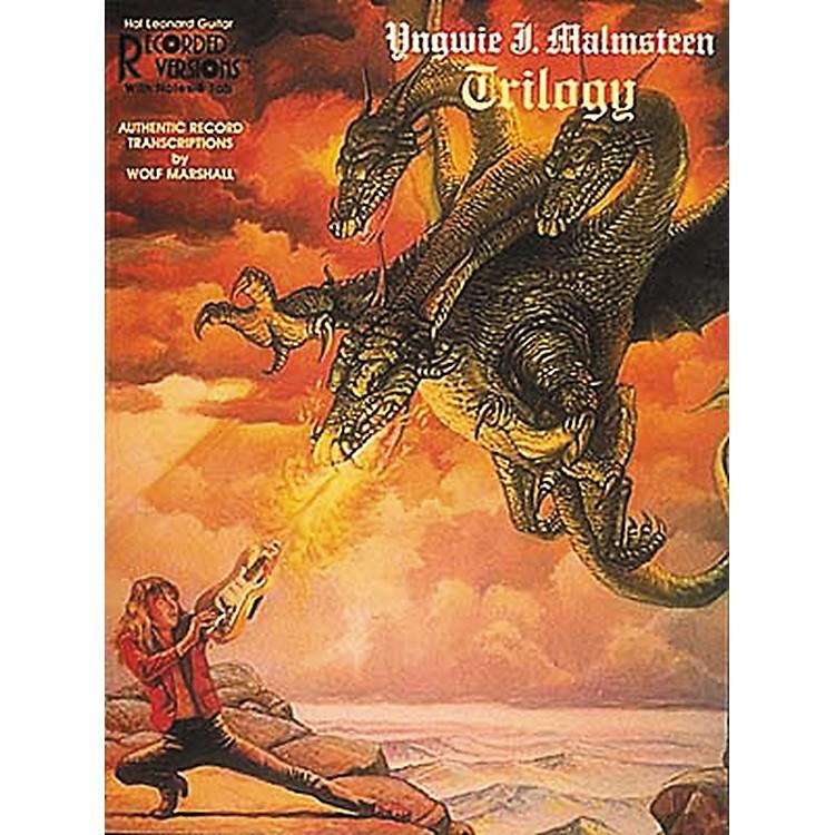 Hal LeonardYngwie J. Malmsteen Trilogy Guitar Tab Songbook