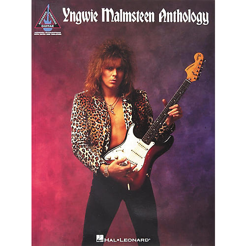 Hal Leonard Yngwie Malmsteen Anthology Guitar Tab Songbook