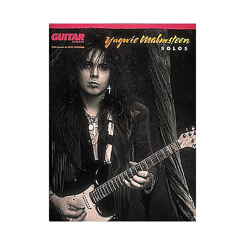 Hal Leonard Yngwie Malsteen Solos Guitar Tab Book-thumbnail