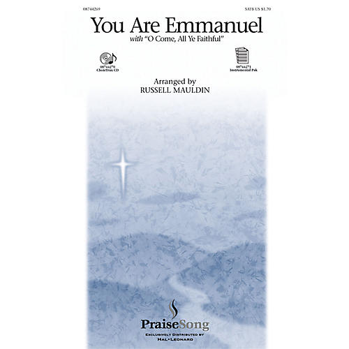 PraiseSong You Are Emmanuel SATB arranged by Russell Mauldin-thumbnail