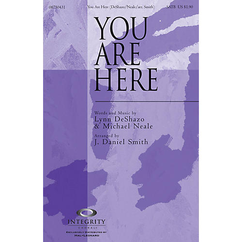 Integrity Choral You Are Here (incorporating Doxology) Accompaniment CD Arranged by J. Daniel Smith-thumbnail