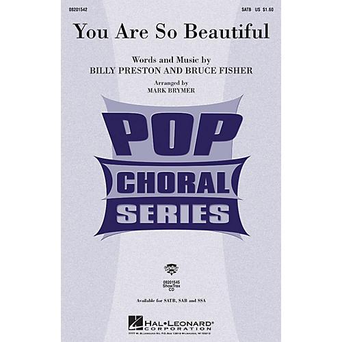 Hal Leonard You Are So Beautiful SSA by Joe Cocker Arranged by Mark Brymer-thumbnail