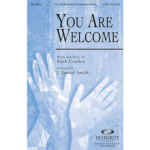 Integrity Choral You Are Welcome Accompaniment CD Arranged by J. Daniel Smith-thumbnail