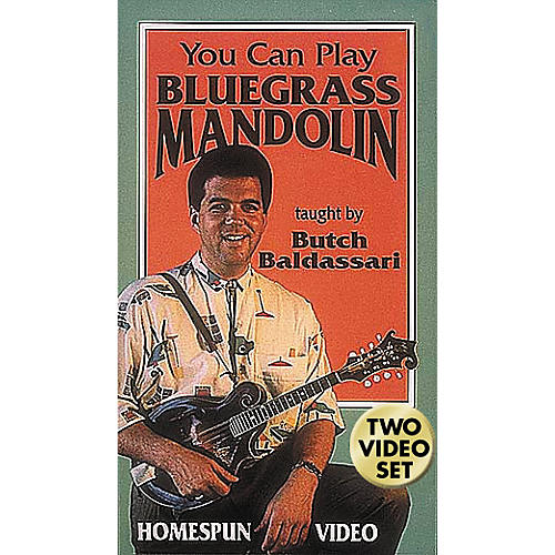 Hal Leonard You Can Play Bluegrass Mandolin - 2-Video Set