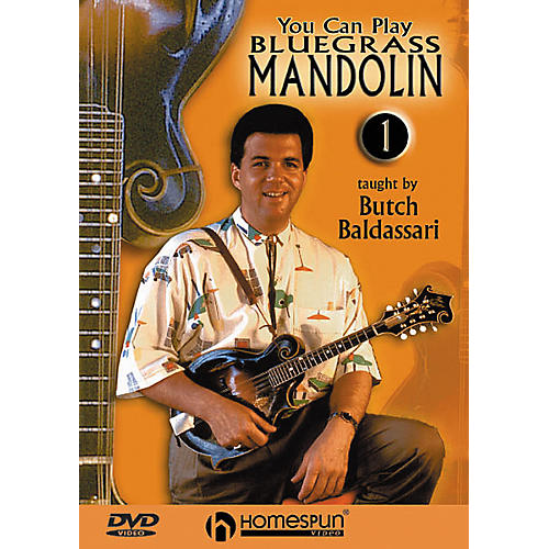 Homespun You Can Play Bluegrass Mandolin 1 (DVD)