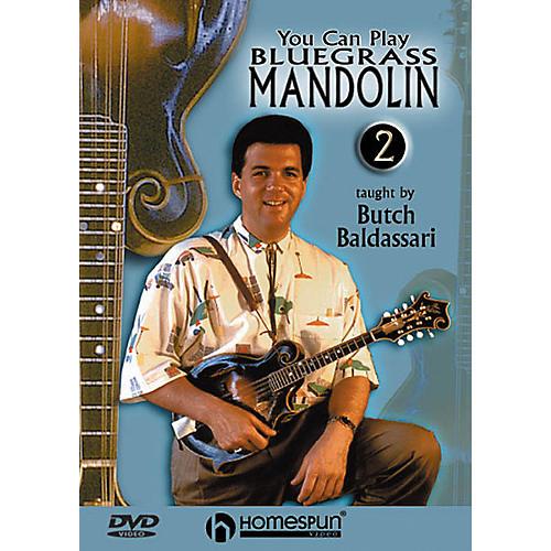 Homespun You Can Play Bluegrass Mandolin 2 (DVD)