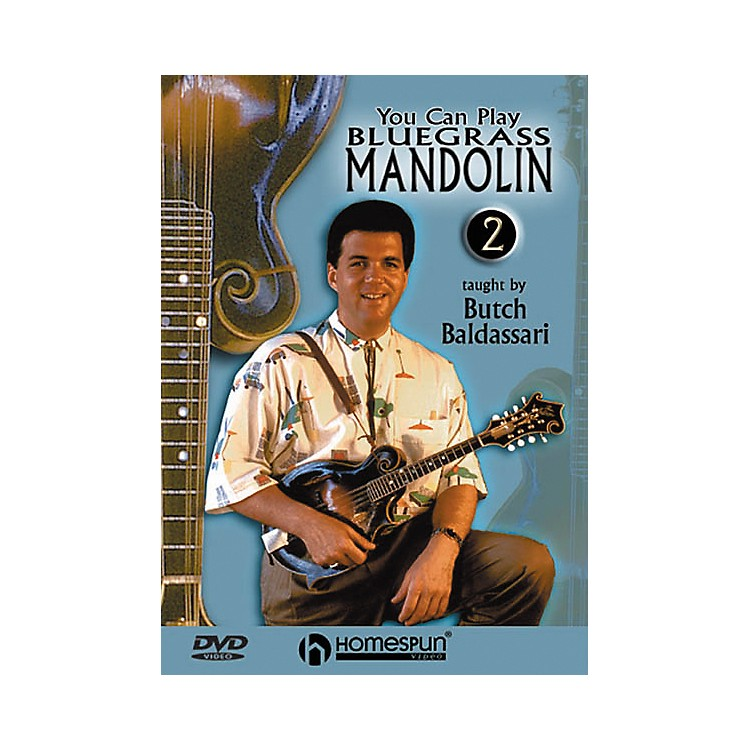 Homespun You Can Play Bluegrass Mandolin 2 (DVD)