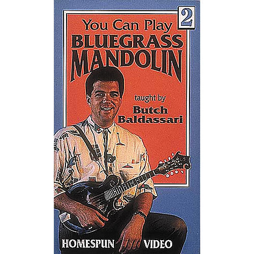 Homespun You Can Play Bluegrass Mandolin 2 (VHS)-thumbnail