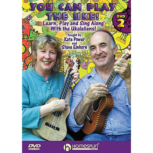 Homespun You Can Play the Uke! Homespun Tapes Series DVD Performed by Kate Power-thumbnail