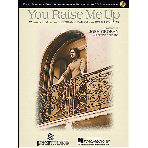 Hal Leonard You Raise Me Up By Josh Groban Vocal Solo with CD