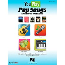 Hal Leonard YouPlay Pop Songs Collection for Young Voices Performance/Accompaniment CD