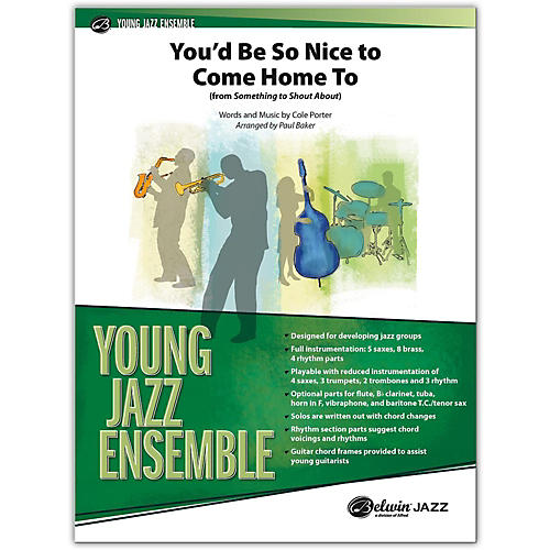 BELWIN You'd Be So Nice to Come Home To (from Something to Shout About) Conductor Score 2 (Medium Easy)-thumbnail