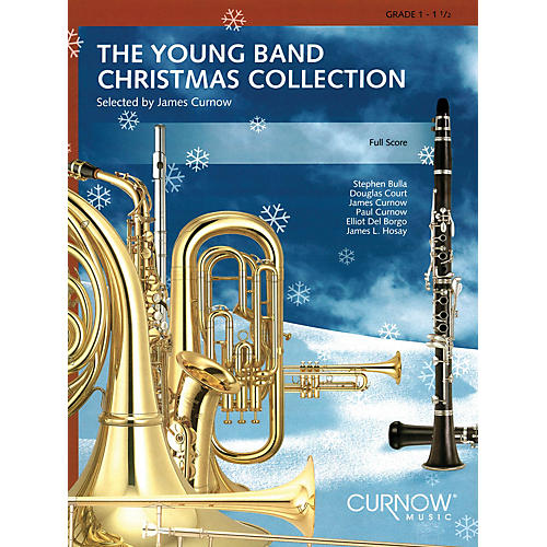 Curnow Music Young Band Christmas Collection (Grade 1.5) (Clarinet 2) Concert Band-thumbnail