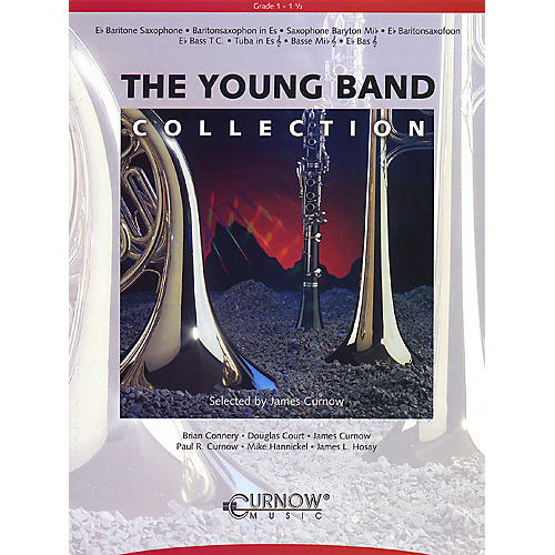 Curnow Music Young Band Collection (Grade 1.5) (Clarinet 1) Concert Band Level 1.5-thumbnail
