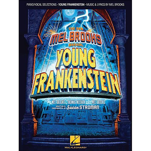 Hal Leonard Young Frankenstein arranged for piano, vocal, and guitar (P/V/G)