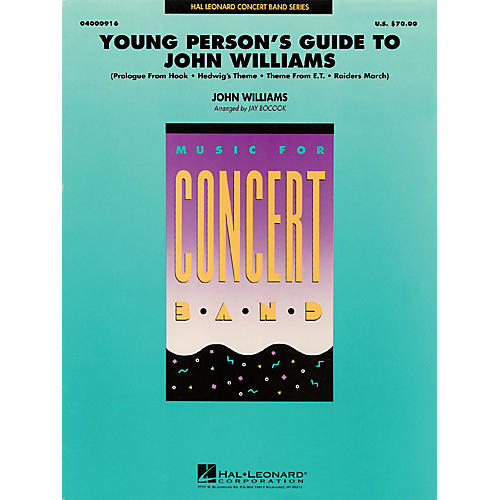 Hal Leonard Young Person's Guide to John Williams Concert Band Level 3 Arranged by Jay Bocook-thumbnail