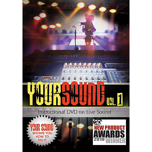 Hal Leonard Your Sound Vol.1 Instructional DVD On Live Sound-thumbnail