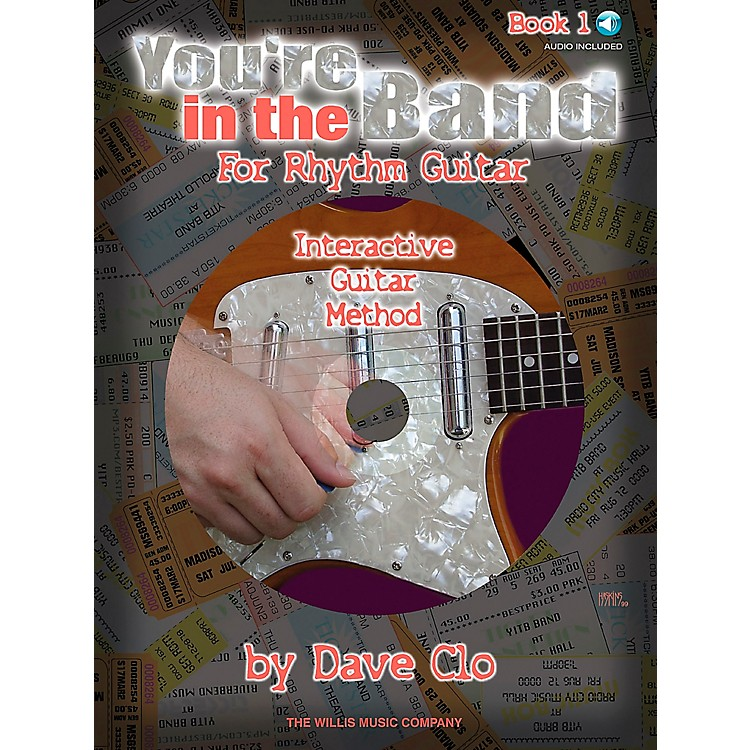 Willis MusicYou're In The Band - Interactive Guitar Method Rhythm Guitar Book 1 Book/CD