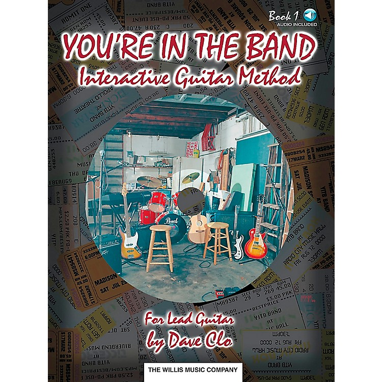 Willis MusicYou're In The Band Lead Guitar Method Book 1 Book/CD