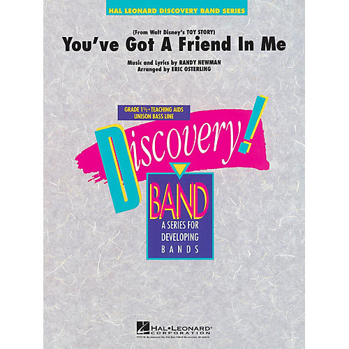 Hal Leonard You've Got a Friend in Me Concert Band Level 1.5 Arranged by Eric Osterling-thumbnail