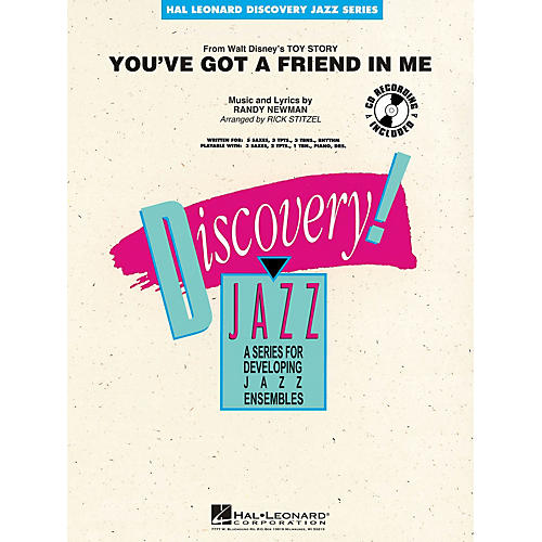 Hal Leonard You've Got a Friend in Me Jazz Band Level 1-2 Arranged by Rick Stitzel-thumbnail