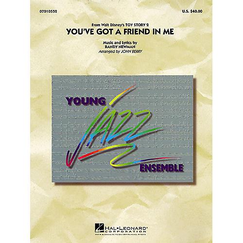 Hal Leonard You've Got a Friend in Me Jazz Band Level 3 Arranged by John Berry