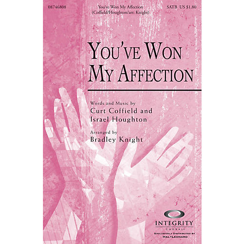 Integrity Music You've Won My Affection SPLIT TRAX by Israel Houghton Arranged by Bradley Knight-thumbnail