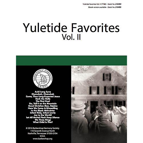 Hal Leonard Yuletide Favorites (Volume II) TTBB A Cappella arranged by Various